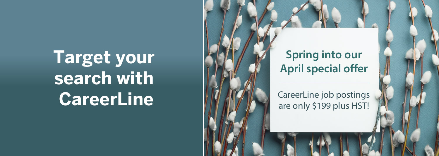 Post your job positions on CareerLine in April and save! - IABC/Toronto
