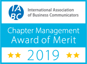 2019 IABC Awards of Merit Chapter Events, Financial Management,and Professional Development
