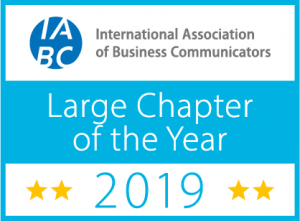 2019 IABC Large Chapter of the Year